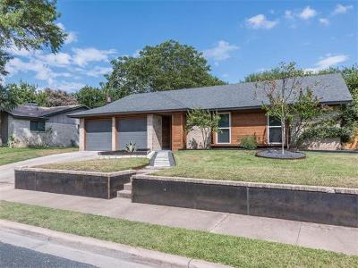 Travis County Single Family Home Pending - Taking Backups: 10503 Berthound Dr