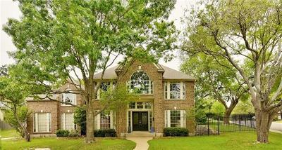 Travis County, Williamson County Single Family Home Pending - Taking Backups: 10804 Callanish Park Dr