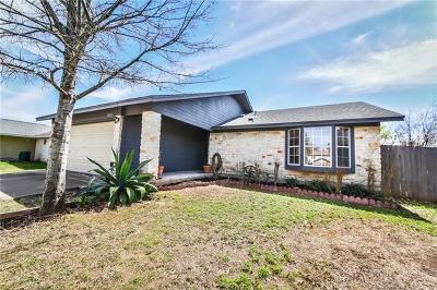 Leander Single Family Home Pending: 1008 Eagles Way