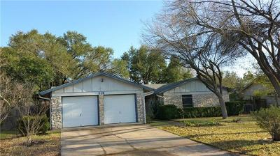 Bastrop County Single Family Home For Sale: 319 McClendon Dr