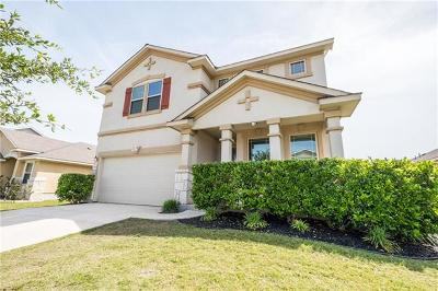 Pflugerville Single Family Home For Sale: 18824 Mangan Way