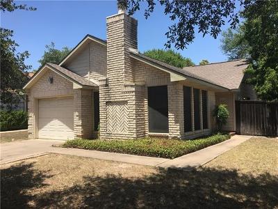 Travis County Single Family Home Pending - Taking Backups: 2116 Margalene Way