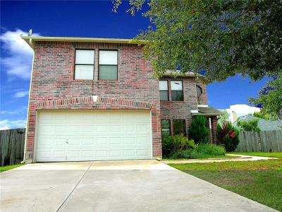 Round Rock Single Family Home For Sale: 3037 Hill St