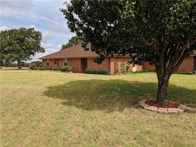 Giddings Single Family Home For Sale: 1184 County Road 200