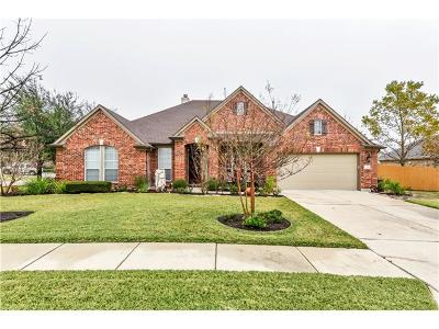 Pflugerville Single Family Home For Sale: 2916 Rambling Creek Ln