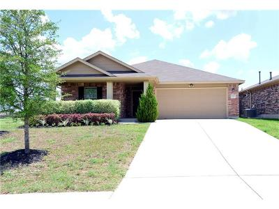 Pflugerville Single Family Home For Sale: 17700 Masi Loop