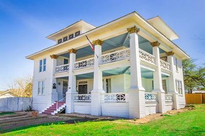 Williamson County Single Family Home Pending - Taking Backups: 500 E Davilla St