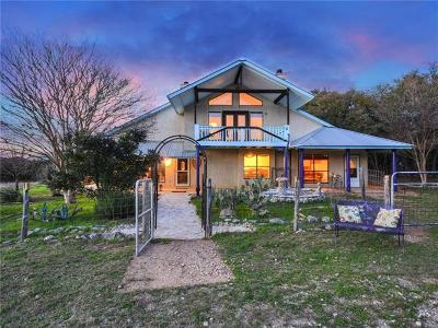 Wimberley TX Single Family Home Pending - Taking Backups: $478,900