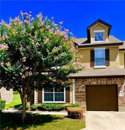 Cedar Park Condo/Townhouse For Sale: 1900 Little Elm Trl #75
