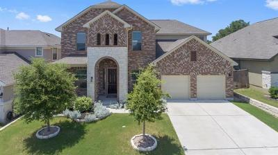 Leander Single Family Home For Sale: 2216 Lookout Knoll Dr