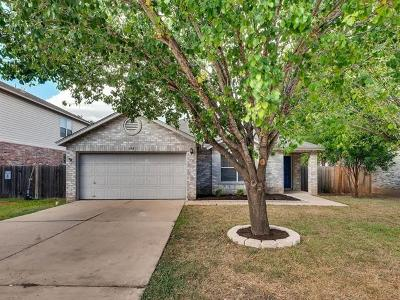 Pflugerville Single Family Home Pending - Taking Backups: 904 Justeford Dr