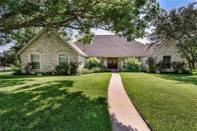 Round Rock Single Family Home Pending - Taking Backups: 3201 Oak Bend Dr