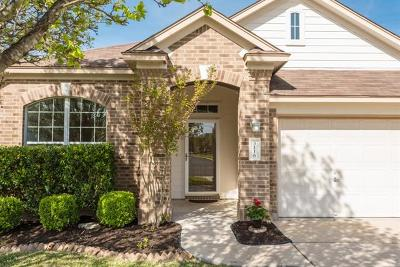 Round Rock Single Family Home For Sale: 3116 Aquila Ct