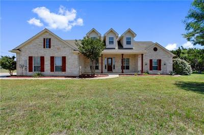 Liberty Hill Single Family Home For Sale: 340 Bronco Blvd
