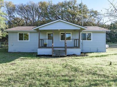 Liberty Hill Single Family Home For Sale: 1600 County Road 256