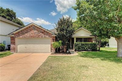 Georgetown Single Family Home Pending - Taking Backups: 7721 Little Deer Trl