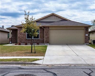 Manor Single Family Home For Sale: 11403 Brenham St