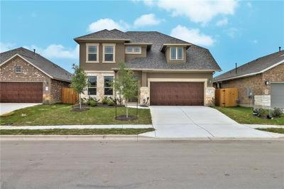 Hutto TX Single Family Home For Sale: $312,527