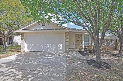 Cedar Park Single Family Home For Sale: 907 Audra St