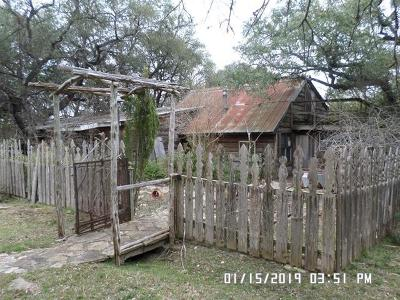 Dripping Springs TX Single Family Home Pending: $160,900