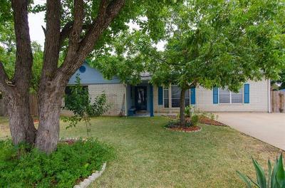 Cedar Park Single Family Home For Sale: 2702 Peach Tree Ln