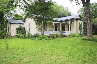 Bastrop Single Family Home Pending - Taking Backups: 802 Jefferson St