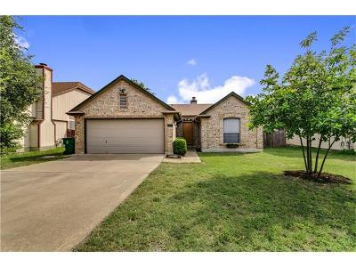 Cedar Park Single Family Home For Sale: 608 Cactus Flower Dr