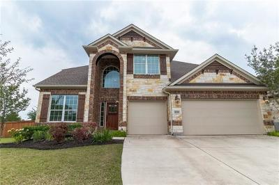 Pflugerville Single Family Home For Sale: 3209 Pasqueflower Pass