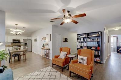 Round Rock Single Family Home Pending - Taking Backups: 1704 Morning Meadows Cv