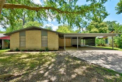 Austin Single Family Home For Sale: 5512 Delwood Dr