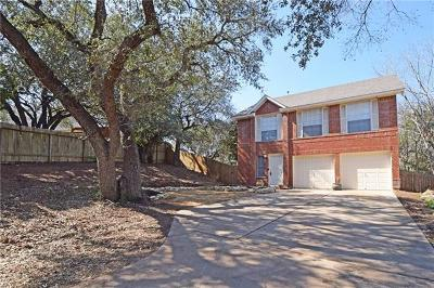 Hays County, Travis County, Williamson County Single Family Home Pending - Taking Backups: 10202 Sweetwater River Cv