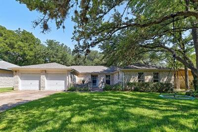 Travis County, Williamson County Single Family Home Pending - Taking Backups: 8912 Bubbling Springs Trl