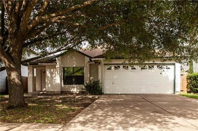 Round Rock Single Family Home For Sale: 1108 Thorn Creek Pl