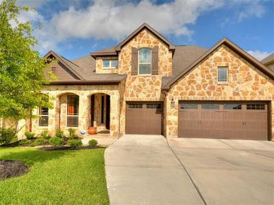 Round Rock Single Family Home Pending - Taking Backups: 4522 Miraval Loop