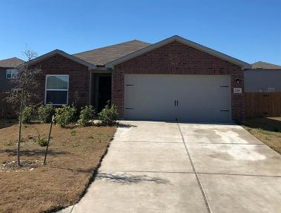 Jarrell Single Family Home For Sale: 129 Bridges Ln