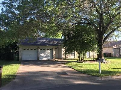 Round Rock Single Family Home For Sale: 705 Lasso Dr