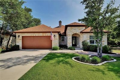 Georgetown Single Family Home Active Contingent: 509 Caprock Canyon Trl