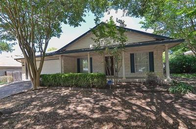 Round Rock TX Single Family Home Sold: $245,000