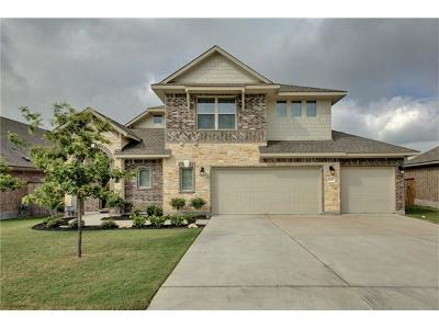 Pflugerville Single Family Home For Sale: 19608 Wearyall Hill Ln