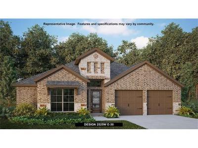 Leander Single Family Home For Sale: 625 Judge Fisk Dr