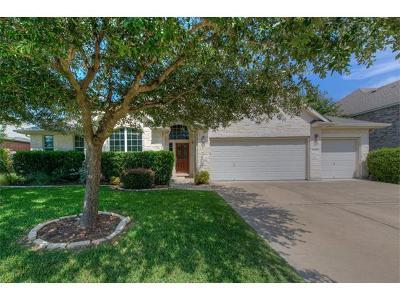 Round Rock Single Family Home For Sale: 3005 Covington Pl