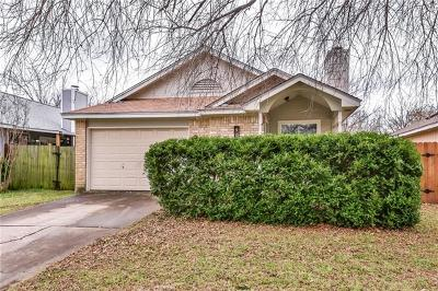 Round Rock Single Family Home Pending - Taking Backups: 913 Greenbriar Loop