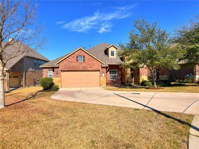 Round Rock Single Family Home Pending - Taking Backups: 4235 Pebblestone Trl