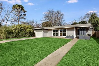 Austin Single Family Home Pending - Taking Backups: 606 W Crestland Dr