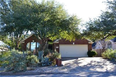 Hays County, Travis County, Williamson County Single Family Home Pending - Taking Backups: 11201 Real Quiet Dr