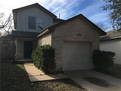 Round Rock Single Family Home For Sale: 1562 Parkfield Cir