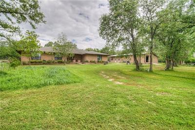 Bastrop County Single Family Home For Sale: 264 Mundine Rd #D
