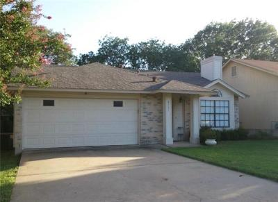 Austin TX Single Family Home For Sale: $320,000