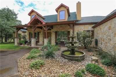 Wimberley TX Single Family Home For Sale: $3,450,000