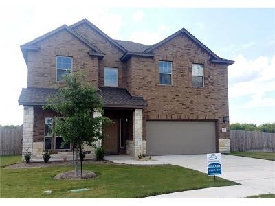 Pflugerville Single Family Home For Sale: 700 Gunning Cv